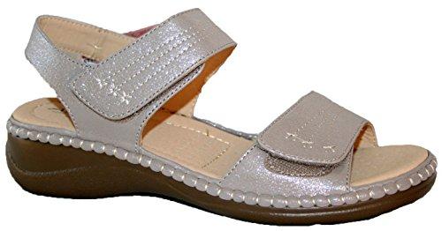 donna donna Glitter Silver ANNABELLE Sandali PLUS nwpUCxf6q