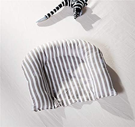 100/% Cotton Soft Breathable Infant Newborn Bassinet Brandream Baby Lounger Pink Striped Portable Crib for Bedroom//Travel