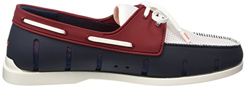 Swims Navy Red Barca Boat Uomo Multicolore Scarpe 131 Loafer Mehrfarbig da wwHTxqfrP