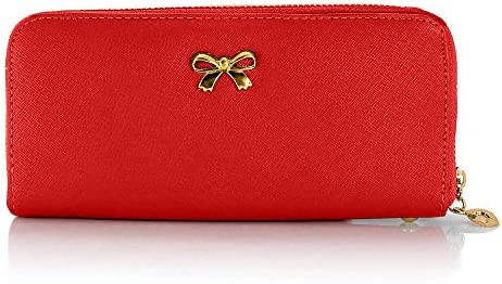 Woman Handbag Bag Wallet Long Clutch Card Holder Faux Leather purse Lady new