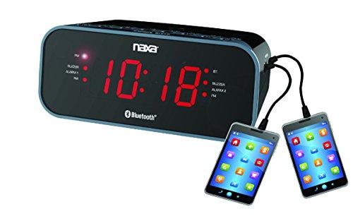 Picture of a NAXA Electronics Dual Radio Alarm 840005011652