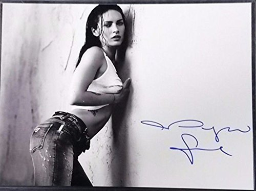Megan Fox - TRANSFORMERS - Signed 8x10 Photograph in Mint Condition COA PROOF - - Hot Mikaela