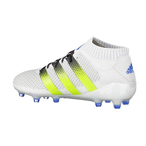 adidas Herren Ace 16.1 Primeknit Fußball-Trainingsschuhe Ftwr White/Slime