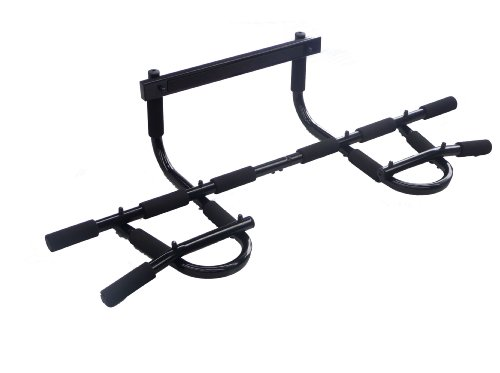 New Gym Chin Pull Up Door Way Exercise Bar Strength Fitness Equipment J64 by FDW