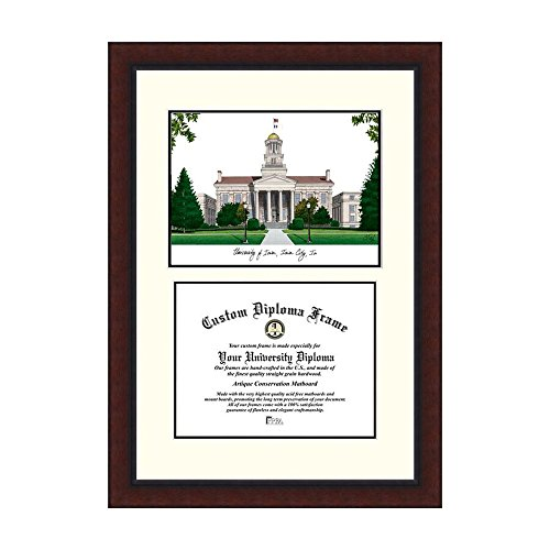 Campus Images NCAA University of Iowa Legacy Scholar Frame by Campus Images