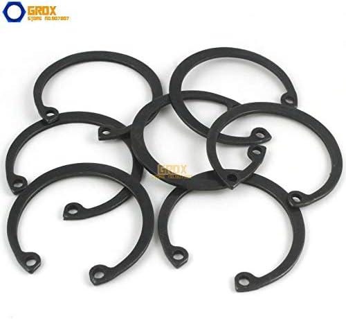 Ochoos 40 Pieces Size 39 Steel Internal Circlip Snap Retaining Ring