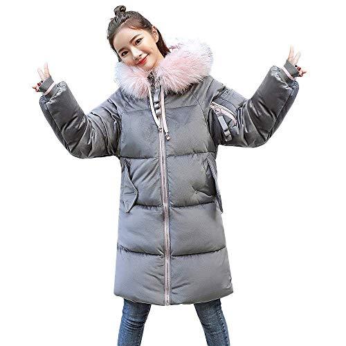 En Rose À Dames L Coton Plein Plus Mince Épais Air Manteau Taille De Mode Oudan coloré Féminine D'hiver Gris Veste Hiver Chaud Manteau Rembourré Capuche Loisirs pnaqwBxv