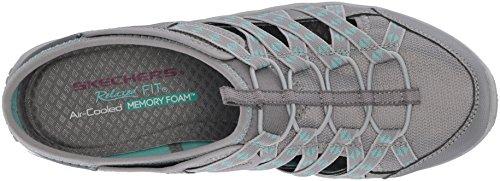 Sneaker Skechers Fest Damen Marlin Grey Reggae on Slip Grau xYzYHwqrO