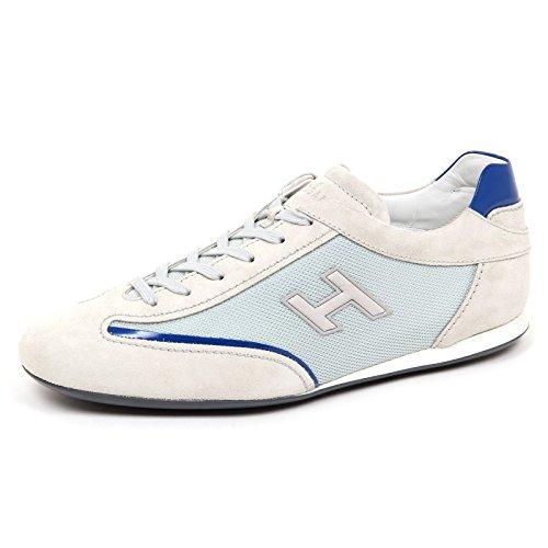 Flock Slash Grey Sneaker Uomo Man Hogan chiaro Olympia H E3050 Grigio Scarpe Shoe q10BqtwX