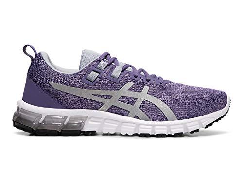 ASICS Women's Gel-Quantum 90 Shoes, 8M, Dusty Purple/Silver