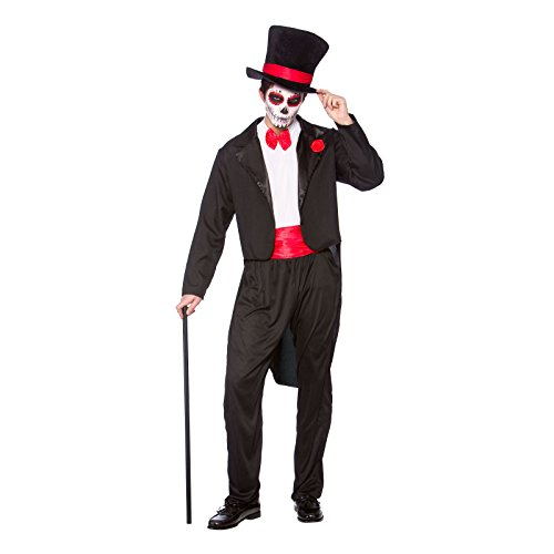Day Of The Dead Senor - Mens Halloween Fancy Dress Costume