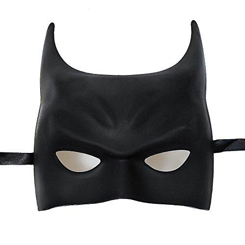 New Style 2015 Unique Batman Masquerade Mask, Charming and Simple Mask, Black Masquerade Mask, Mens Masquerade Mask, Mask Mardi Gras (One Charming Party Halloween Games)