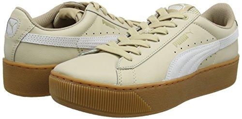 Donna L Sneaker Vikky Platform Beige Puma safari White 4pqzFnBw