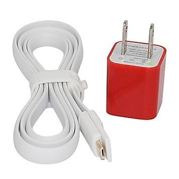 CL - Blanco 100cm Imán Diseño Micro USB cable cargador y ...