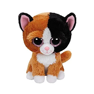 Ty Beanie Boos Tauri Cat Plush, Tan, Regular: Toys & Games