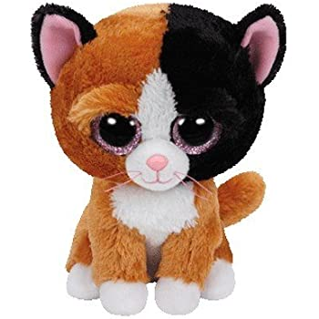 af71ed5bd23 Amazon.com  Ty Beanie Boos - Pepper the Cat  Toys   Games