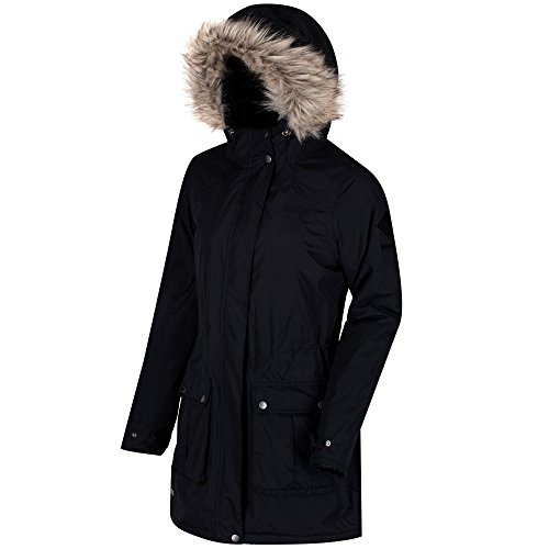 Schima II Regatta mujer impermeable para Abrigo modelo Negro FUFZO4p