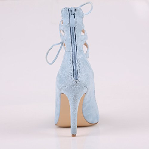 Kolnoo Kolnoo Bleu cheville Bride Bride femme pfw6q