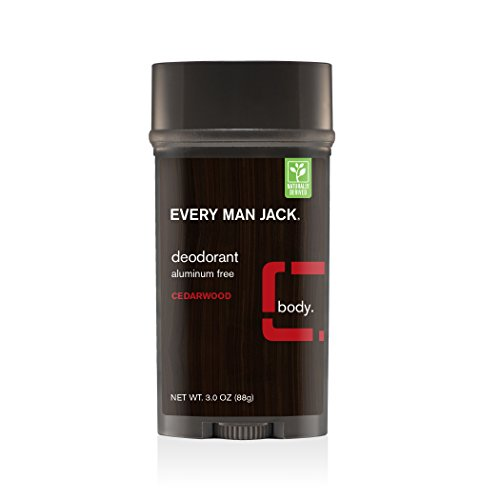 Every Man Jack Deodorant, Cedarwood, 3 Ounce
