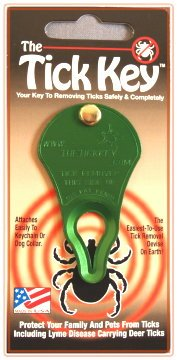 TickKey Tick Removal Tool GREEN