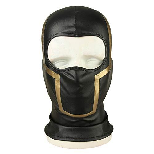 cosdream Avengers Endgame Marvel Costume Cosplay Adult Hawkeye Barton mask gloves belt for adults (Only mask) ()