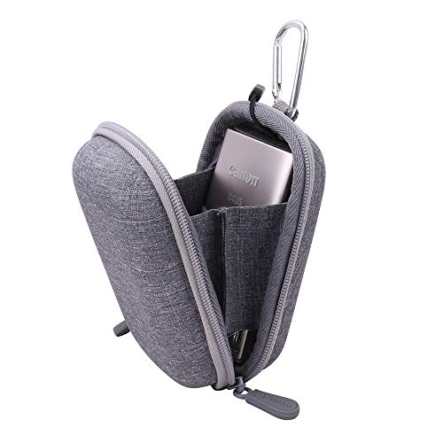 Aenllosi Hard Carrying Case for Canon PowerShot ELPH 180/190 Digital Camera (Carrying case, Grey)