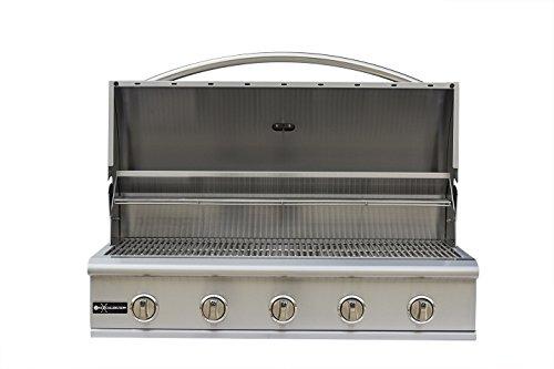 Excalibur 40 inch 5 burner built in grill (LIQUID PROPANE)#GG-40-LP
