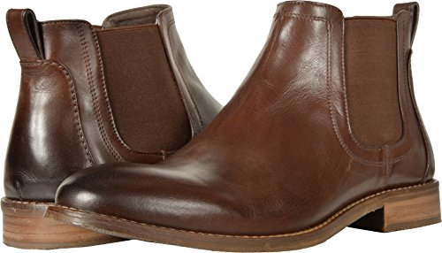 Nunn Bush Men's Hartley Side Gore Boot Chukka, Brown, 10.5 M US (Leather Gore Side)