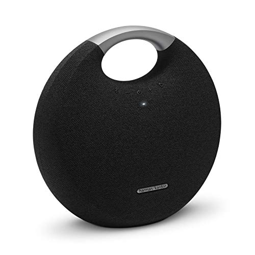 Harman Kardon Onyx Studio 5 Bluetooth Wireless Speaker (Onyx5) (Black) (Best Bluetooth Speaker Bass 2019)