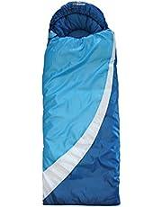 outdoorer DreamSurfer, mitwachsender Schlafsack für Kinder und Jugendliche in blau oder pink - der Jugendschlafsack