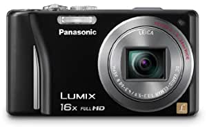 Panasonic Lumix DMC-ZS10 14.1 MP Digital Camera with 16x Wide Angle Optical Image Stabilized Zoom and Built-In GPS Function (Black)