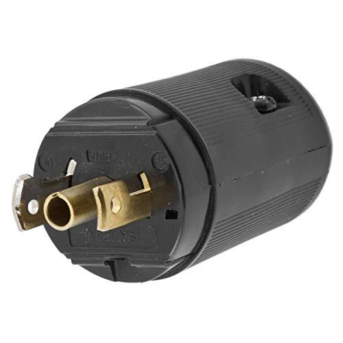 Hubbell, 7594V, Midget Twist Lock Nema Ml-2P 3 Wire, ()