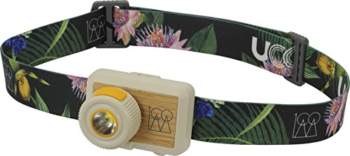 UCO Hundred 100 Lumen LED Headlamp with Real Wood Inlay, Hawaii Nights by UCO