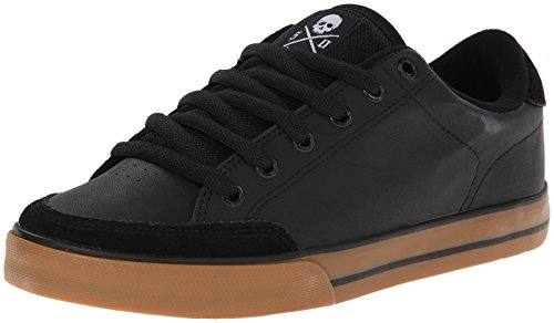 C1RCA AL50 Skate Shoe, Black/White/Gum, 12 M US