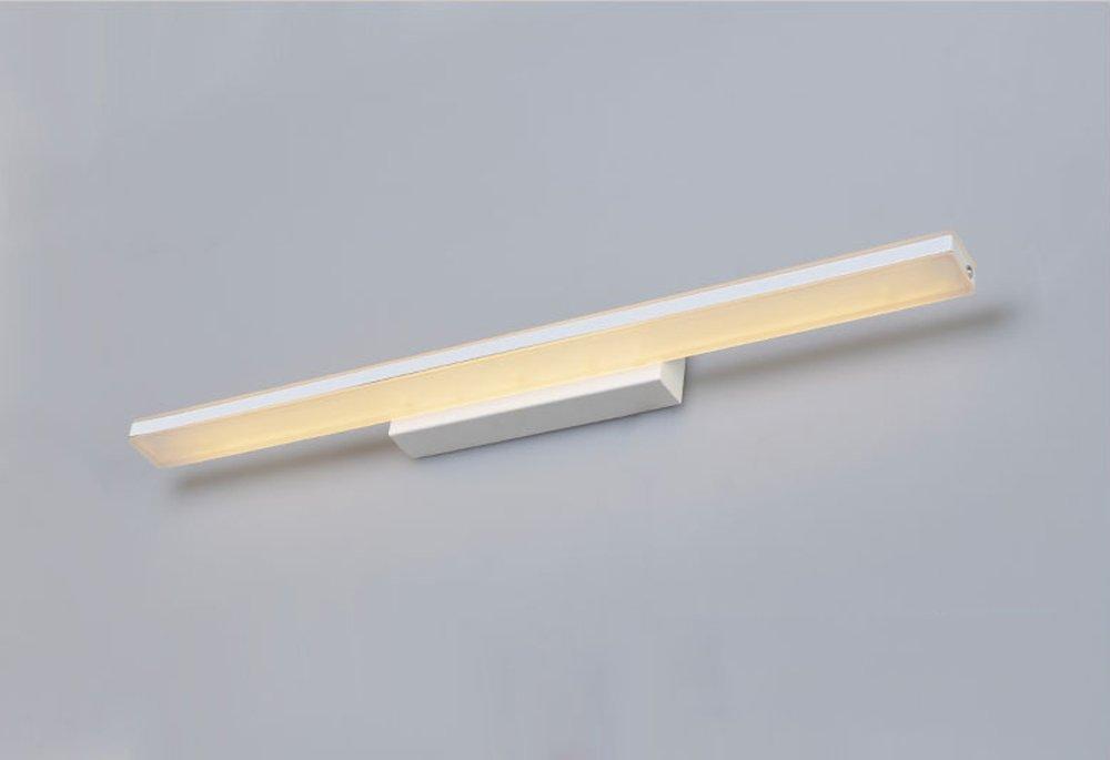 Warmes Licht-70185cm Aglia UK Einfache Badezimmer Badezimmer Mit Lange Acryl Anti-Nebel Spiegel Vorderes Licht Spiegel Licht ( Farbe   Warmes Licht-70185cm )