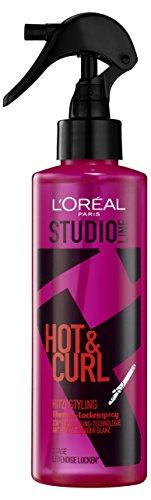L'Oréal Paris Studio Line Hot Curl Thermo-Locken-Spray, 200 ml