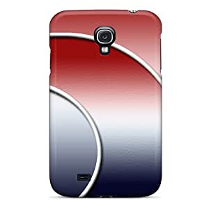 New Shockproof Protection Case Cover For Galaxy S4/ Abstract Red Blue Case Cover