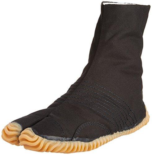 Zapatos Festival Ninja Jikatabi para correr 6 Clips - Directo de Japon (Marugo) Negro