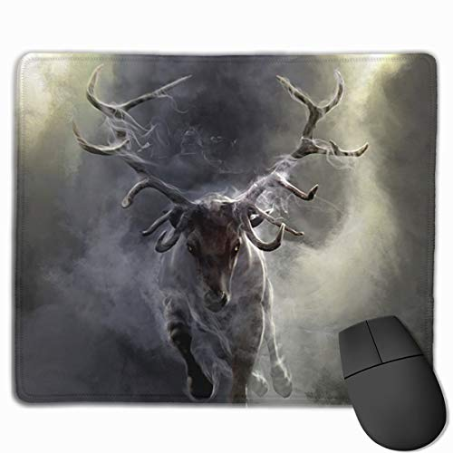 Smooth Mouse Pad Cloud Animal Deer Mobile Gaming Mousepad Work Mouse Pad Office Pad ()