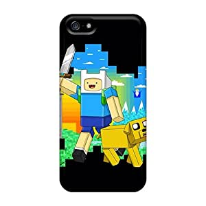 Hot Design Premium SlR640nbgM Cases Covers Iphone 5/5s Protection Cases(adventure Time Friends)