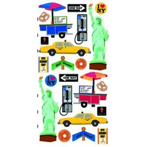 Stickopotamus destination stickers new york - Stickers porte new york ...