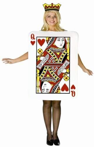 Rasta Imposta Women's Queen Of Hearts Card, Multi, One ()