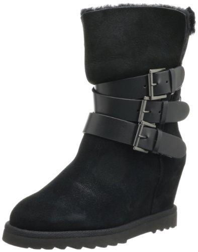 Ash Women's Yes Boot,Black,39 EU/9 M US