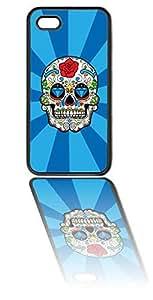 Sugar Skull Black Silicone Case for iPhone 6 (4.7 inch) i6