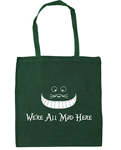 all mad Beach Bag Shopping litres x38cm here Green 10 Bottle HippoWarehouse Gym 42cm we're Tote Zq8E0n5
