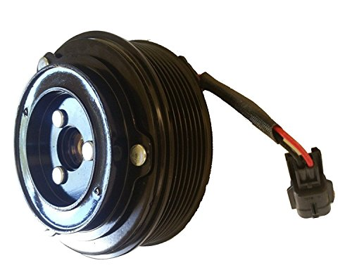 Front Clutch Pulley (Nissan Maxima (08-14) 3.5L A/C AC COMPRESSOR CLUTCH KIT (PULLEY, BEARING, COIL,)