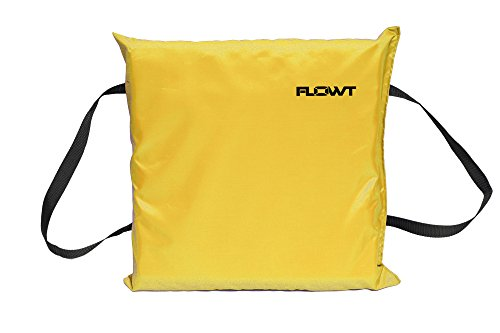 Flowt 40103 Type IV Throwable Floatation Foam Cushion, USCG Approved, Yellow ()