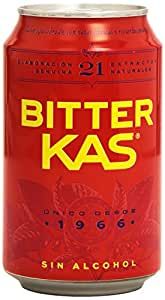 Bitter KAS - Bebida Refrescante sin Alcohol - 330 ml