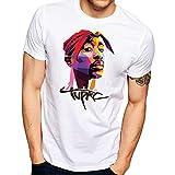 Egoteest Tupac Shirt - 2pac Shirt - All Eyez On Me - Legend Rappers Hip Hop (2XLARGE)