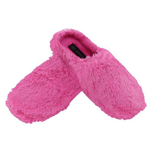 Brandsseller Pantoufles Plastique Femmes, Couleur Rose, Taille 37 Eu